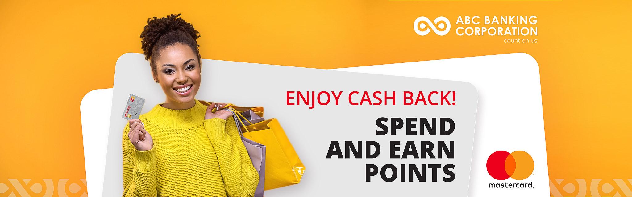 Mastercard Cash back ABC Banking Corporation